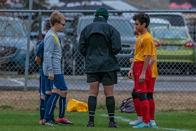 1/13/2018 U14B vs. Clearwater Chargers Soccer Club