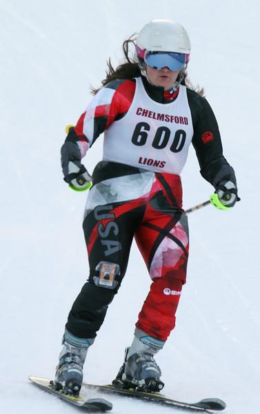 High school skiing slalom 011519