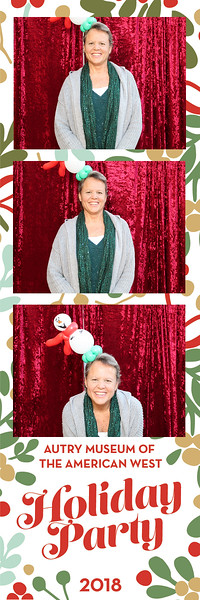 Autry Museum Holiday Party 2018