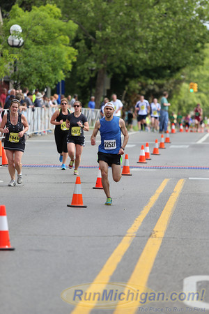5K Finish - 2013 Dexter-Ann Arbor Run