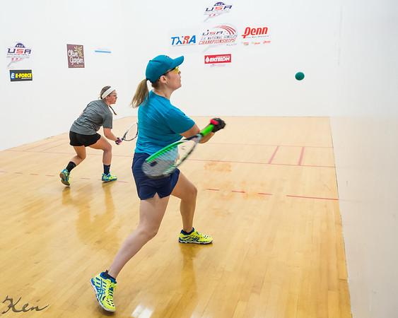 Women's Singles US team Qualifying Quarters Cheryl Gudinas over Hannah Shnurman