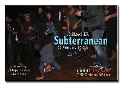 25 feb 2013 Subterranean