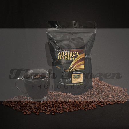 Tasty Magic Coffee Product Photography