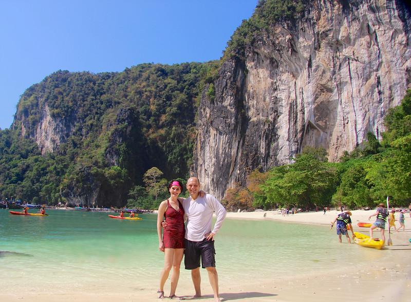 On cloud nine!!  Hong Island (Koh Hong) - Andaman Sea