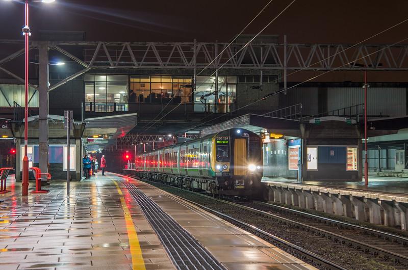 London Midland Desiro at Stafford