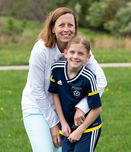 Caitlins Soccer game with Dana and kids May 2018