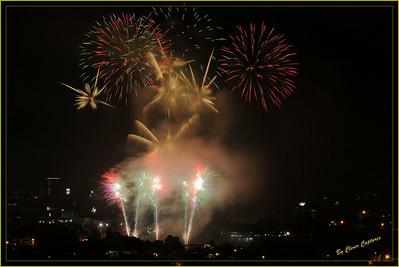 CdO Fiesta Fireworks 2014