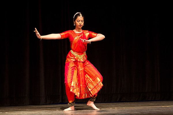Indian dance demonstration