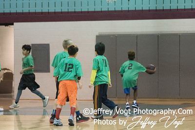 1/20/2018 5th Grade Up County Rec Basketball Team Bombers at Kingsview Middle School, Photos by Jeffrey Vogt Photography