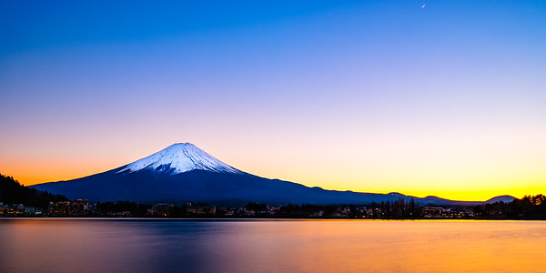 Sunset on Fuji San