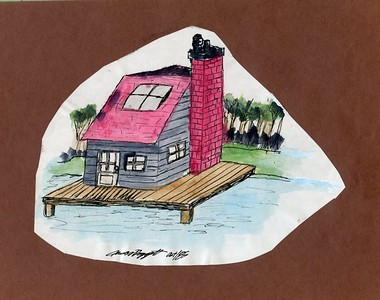 1985 Family Cabin Stay - Jason's Painting