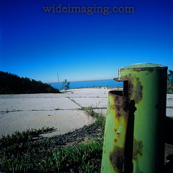Rindge Avenue & Sterry Street. Playa Del Rey, Ghost Town, from October 10, 2000