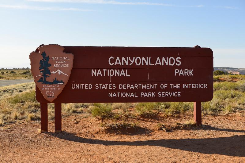 Entrance to Canyonlands National Park, Utah