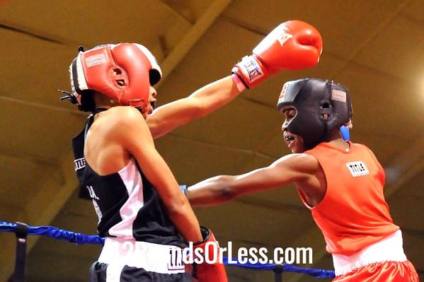 Bout 3 Deandre Williams, Untouchable BA -vs- Donte Benjamin, MLK/Premier BC, 90 lbs, Intermediate