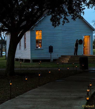 Christmas at Independence Plaza, Baytown, Texas