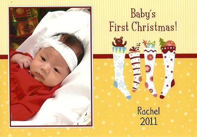 December 3, 2011 - Chin Family Christmas Card
