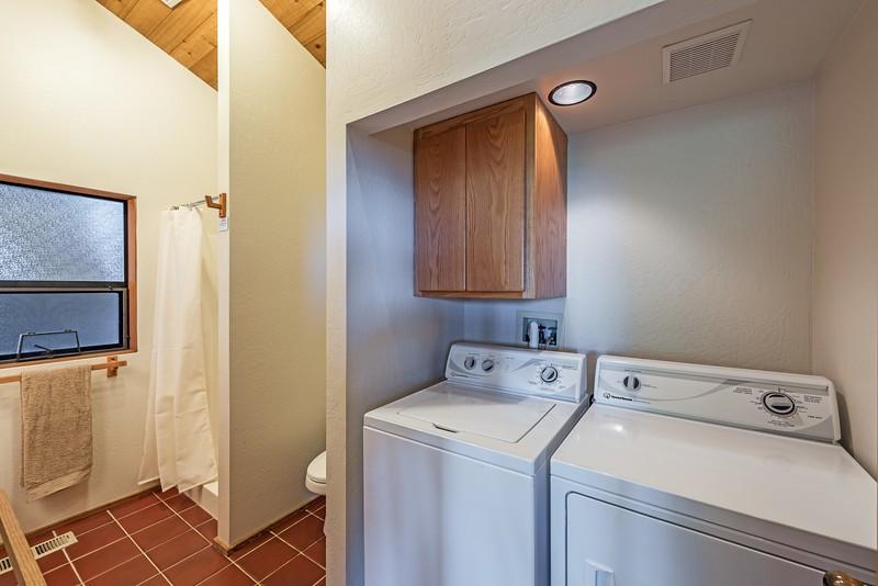 Guest Bath & Laundry