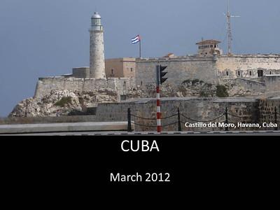 2012 Cuba