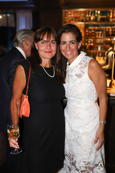 Jennifer Romm, Kell Collis. photo by Bruce Allen, Wolfgang Puck Opening Reception 2019