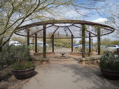 The Desert Botanical Garden in Phoenix
