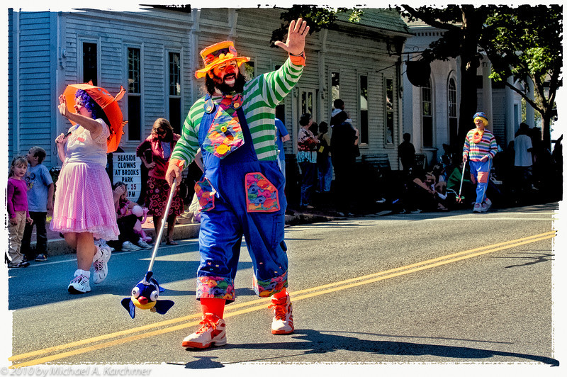 Seaside Clowns on Parade, Harwich Center, 2010 [Michael A. Karchmer]