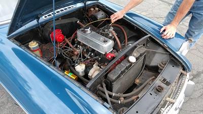 2017-06-17 - 1967 MGB GT running