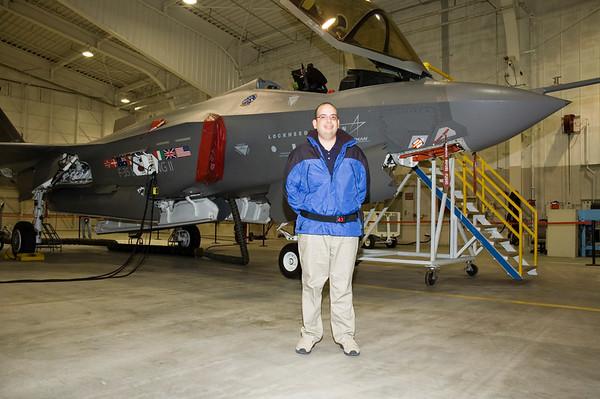 AA-1, the first F-35 Lightning II Aircraft