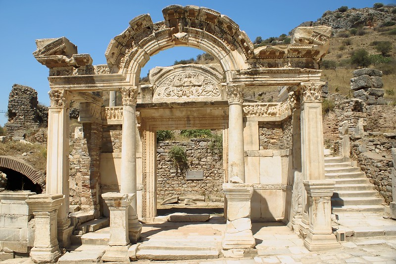 Hadrian's Temple in Ephesus, Turkey