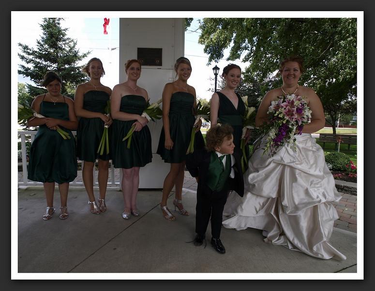 Bridal Party Family Shots at Stayner Gazebo 2009 08-29 017 .jpg