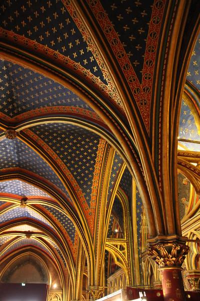 Lower Chapel Ceiling, Sainte-Chapelle