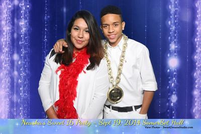 Neasha Sweet 16 Party NY