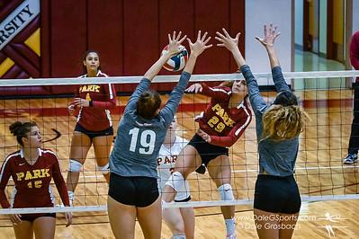 Park Univ. Women's Volleyball vs Georgetown College 2021