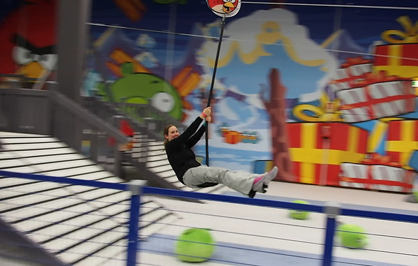 At the Angry Birds Activity Park