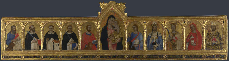 The Virgin and Child with Ten Saints