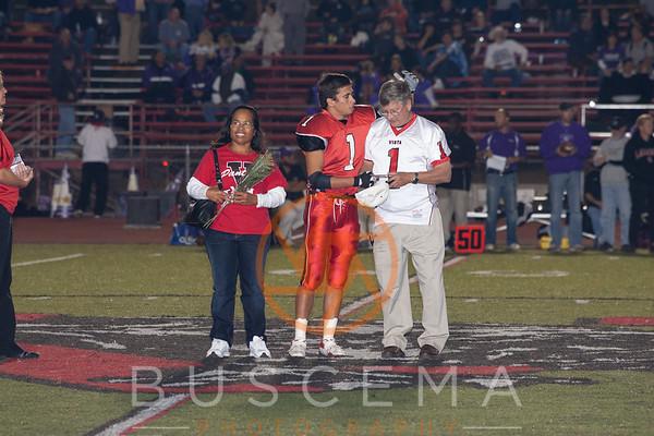 Vista vs Carlsbad Football 10-27-2006 Senior Night
