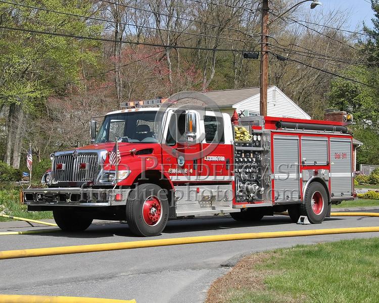 Lexington, Mass. Engine 4 & Rescue 1 - May 2007