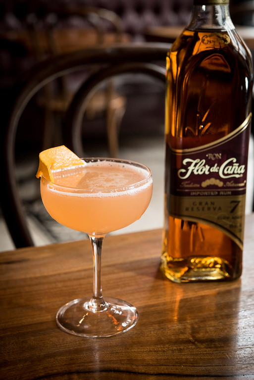 . For National Rum Month (August) and National Rum Day (Aug. 16),  try this Daiquiri al Marrasquino, made with Flor de Cana, which is aged naturally in American white oak bourbon barrels sealed with banana leaves giving the rum a whisky finish with tropical flavor notes. www.flordecana.com.<br> - ½ part Flor de Caña 7<br> - ¾ part fresh lime juice<br> - ½ part simple syrup (1.5:1 sugar: water)<br> - ¼ part Luxardo Maraschino Liqueur<br> Shake vigorously and strain into Coupe. Garnish with orange peel.