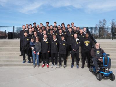 2020 Men's Track Team