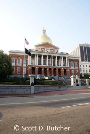 Mass. State House by Scott D. Butcher