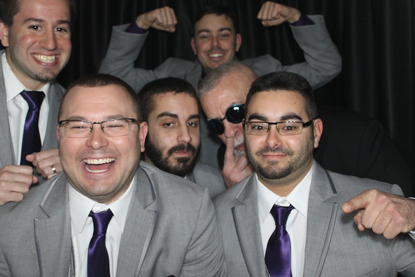 Gina & Al's Wedding Photobooth Pics 1.8.2017!