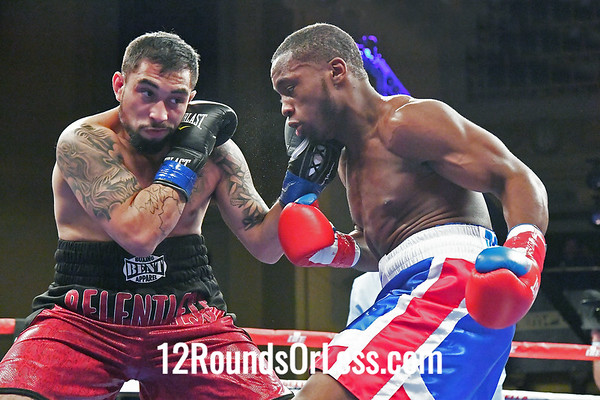 Bout #6:  Charles Conwell, Cleveland, OH  vs  Roque Zapata, Culpepper, VA  SUPER WELTERWEIGHTS