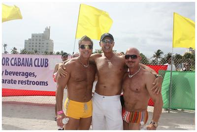 White Party Muscle Beach - Miami, FL