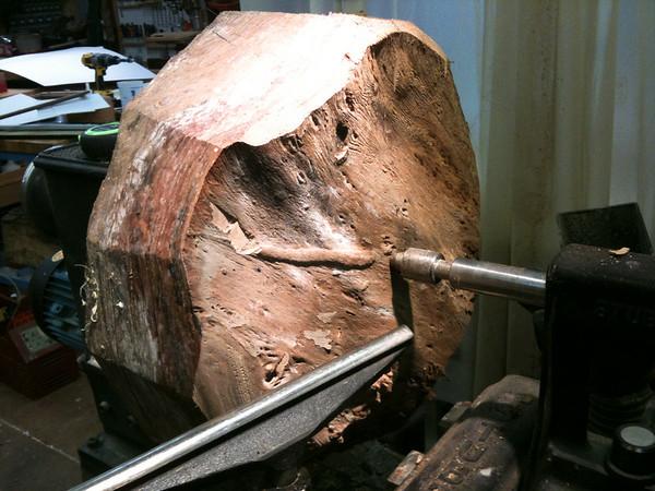 Elm Bowl..Making of