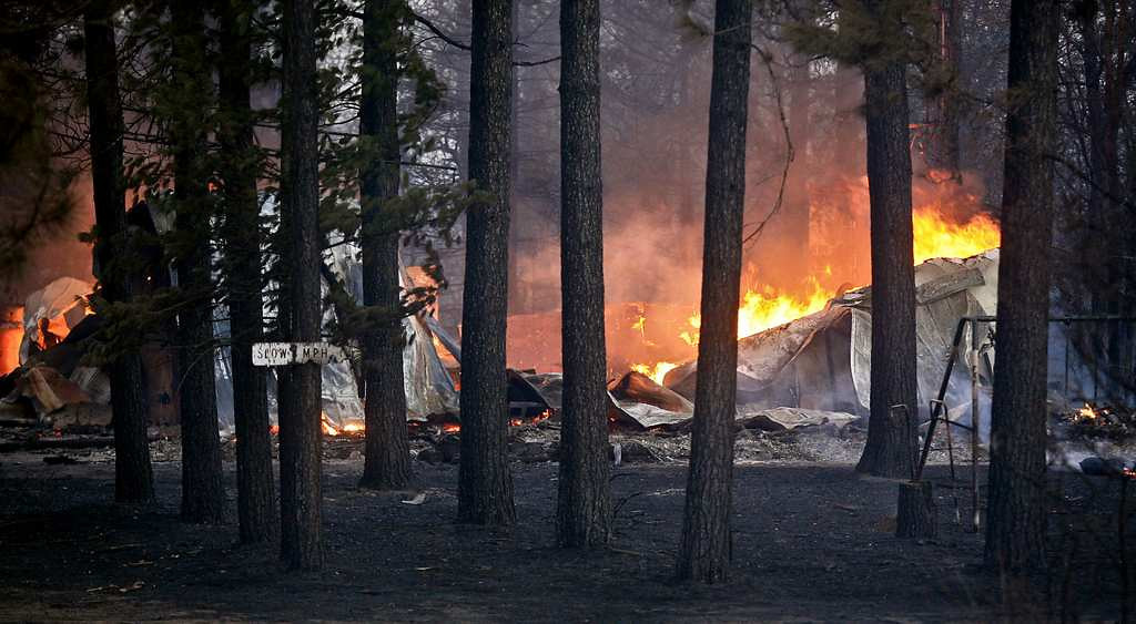 . Several structures were destroyed in a mostly rural and wooded area east of Solon Springs as the forest fire grew to 9 square miles, the Wisconsin Department of Natural Resources said. No injuries had been reported.  (Duluth News-Tribune: Clint Austin)