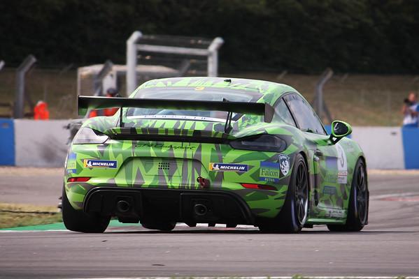 The Cayman Islands Porsche Sprint Challenge GB 2020 - Donington Park