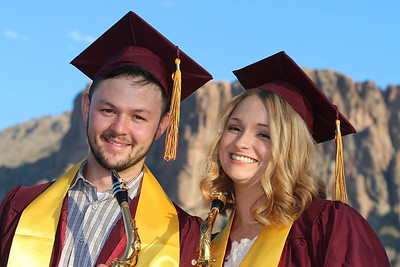 2018 Seth and Morgan - ASU Grads 5-7-18