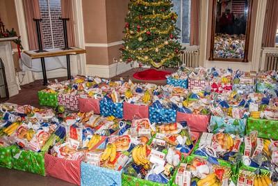 Bellefonte Elks Christmas Basket Assembly - 12-23-2018