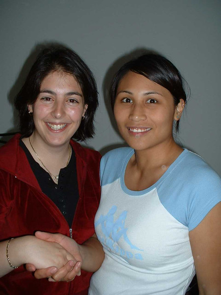 Heidi and Aileen