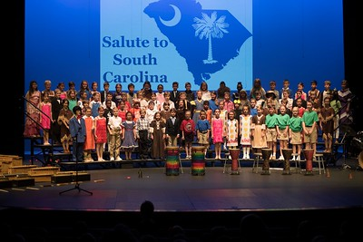 3rd Grade Salute to South Carolina 2018