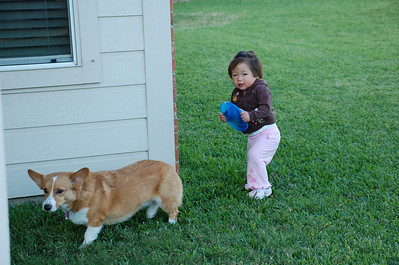 October 27, 2008 - Eating Burritos and Playing Outside